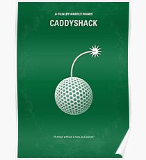 No013- Caddyshack minimal movie poster Poster