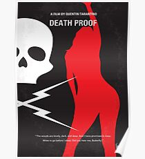 No018- DeathProof minimal movie poster Poster