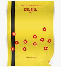 No048- Kill Bill -part 1 minimal movie poster Poster