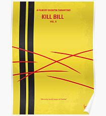No049- Kill Bill -part2 minimal movie poster Poster