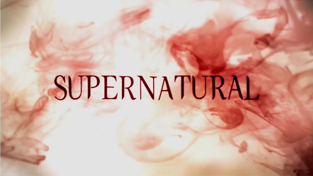 quotsupernatural season 5 logoquot by supernaturalmgc redbubble