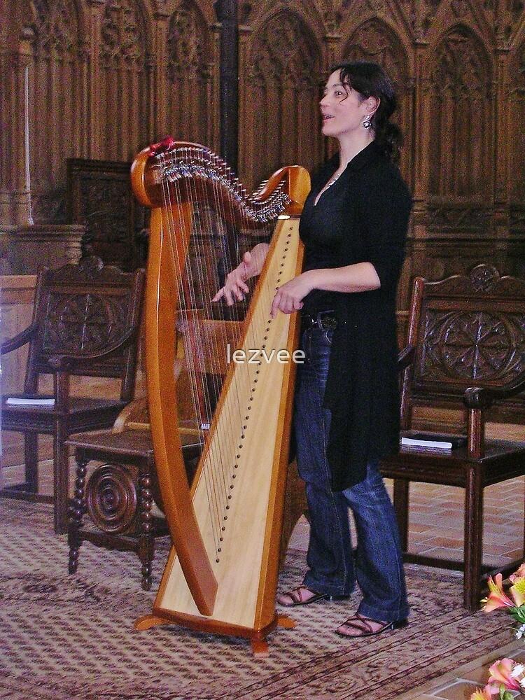 The Harpist by lezvee