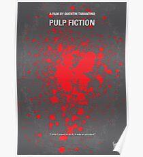No067- Pulp Fiction minimal movie poster Poster