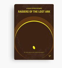 No068- Raiders of the Lost Ark minimal movie poster Canvas Print