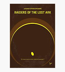 No068- Raiders of the Lost Ark minimal movie poster Photographic Print