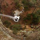 Kellacey Falls by Kent Nickell