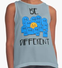 Be Different Contrast Tank