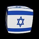 Israeli Flag cubed. by stuwdamdorp