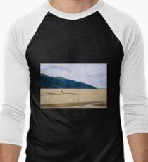 Wind surfing Alaska style Men's Baseball ¾ T-Shirt