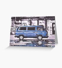 T25 Greeting Card