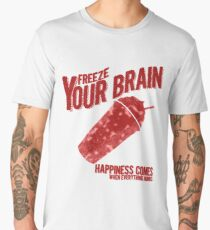 Freeze Your Brain - Heathers Men's Premium T-Shirt