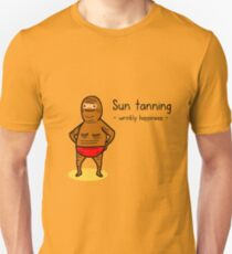 Crinkly browny T-Shirt