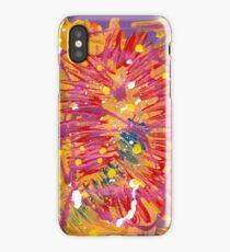 Red Blast  iPhone Case/Skin