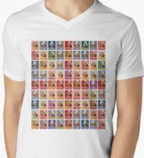 1st Class Penelope - Ooh Aah Bird V-Neck T-Shirt