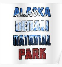 Alaska Denali National Park - Landscape  Poster