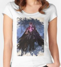 League of Legends RAKAN and XAYAH Women's Fitted Scoop T-Shirt