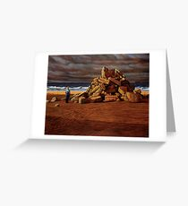 Foreshore Monument  Greeting Card