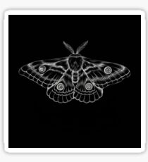 sternum moth Sticker