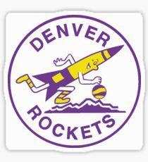 denver rockets Sticker
