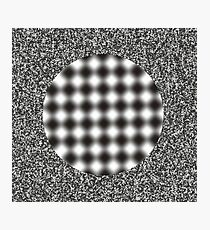 optical illusion Photographic Print