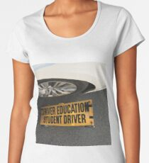 Driver Education  Women's Premium T-Shirt