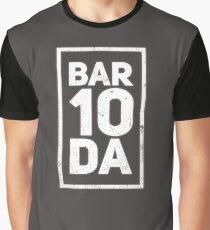 Bar 10 Da T-Shirt Bartender Shirt Funny Novelty Gift For Men and Women Graphic T-Shirt
