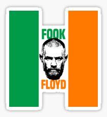 Conor McGregor Floyd Sticker