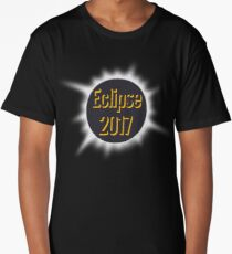 Solar Eclipse 2017 Date 8.21.17 Long T-Shirt
