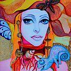 Ulady with Uchameleon by Tatyana Binovskaya
