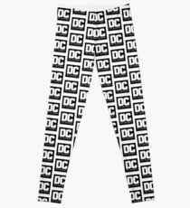 DC on SCREEN Logo (Black) Leggings