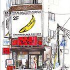 Building in Nishi Shinjuku by Florent  Chavouet
