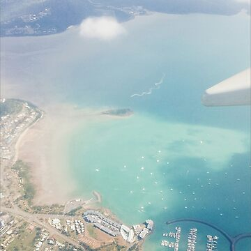 View of Arlie Beach from the Plane by ebonyrose5