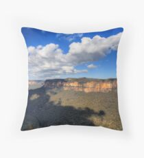 Grose Valley (East), NSW Throw Pillow