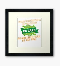 RC Cars Framed Print