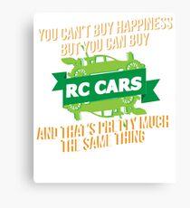 RC Cars Canvas Print