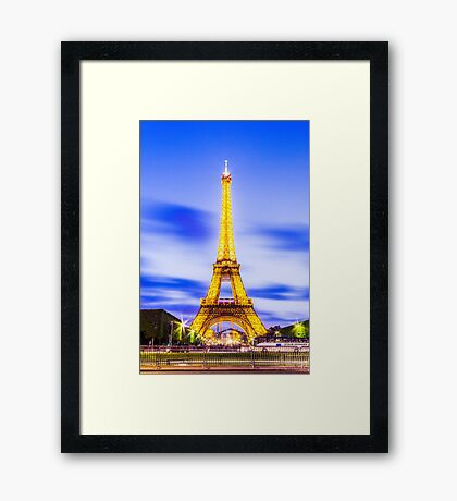 Eiffel Tower 7 Framed Print