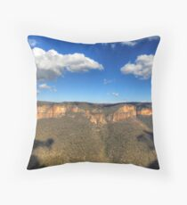 Grose Valley (West), NSW Throw Pillow