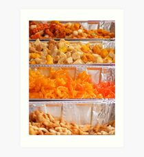 Indian sweets Art Print