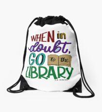 Harry Potter Inspired Drawstring Bag