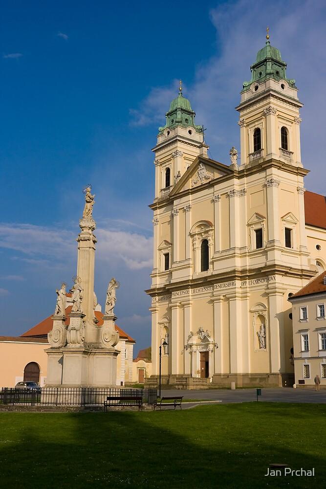 Valtice church by Jan Prchal