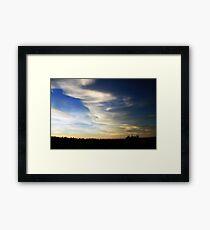 The Big Sky Framed Print