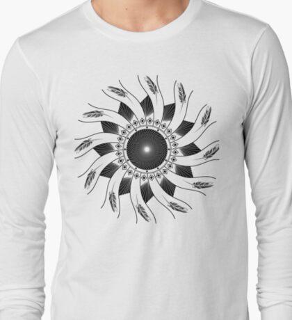 Mandala B&W T-Shirt