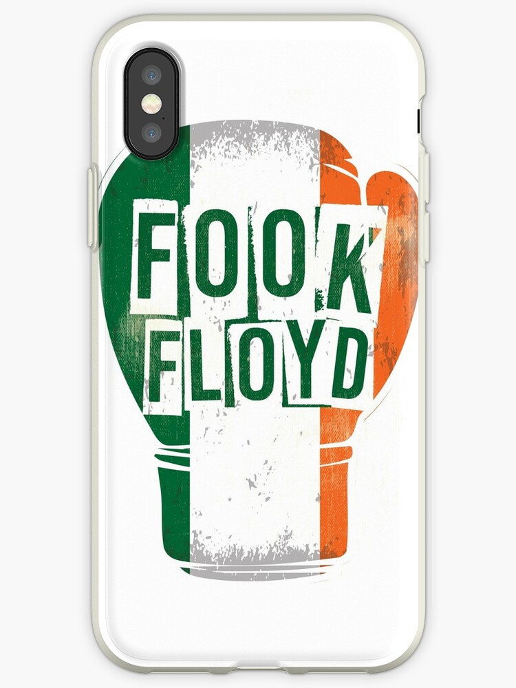 FOOK FLOYD Conor McGregor Fan Boxing Glove by gettinitnow