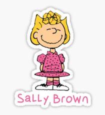 Sally Brown - Peanuts  Sticker