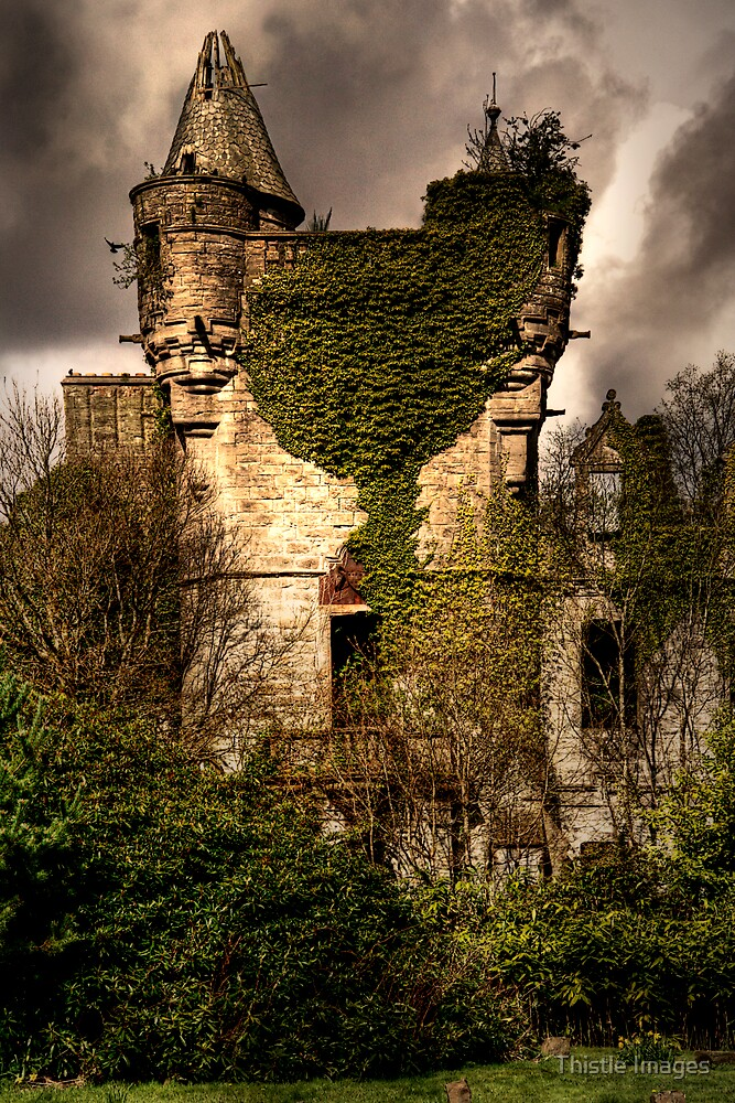 Castle Turret by Thistle Images