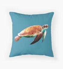 The Turtle Throw Pillow