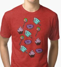 Colorful Confectionery Tri-blend T-Shirt