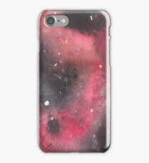 Pink galaxy paint  iPhone Case/Skin