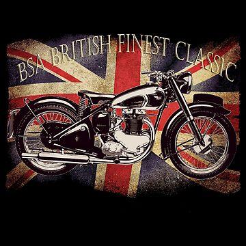 BSA British Finest Motorcycle by patjila