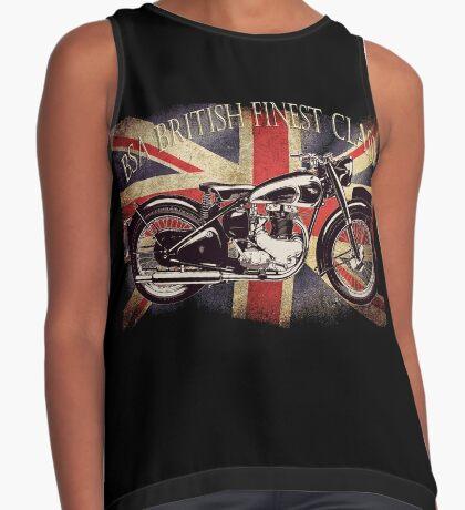 BSA British Finest Motorcycle Contrast Tank
